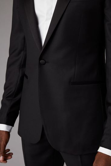 Picture of Black slim fit two-piece tuxedo