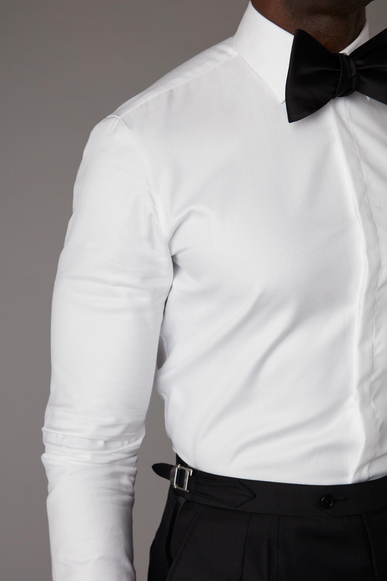 Picture of White Tuxedo Shirt