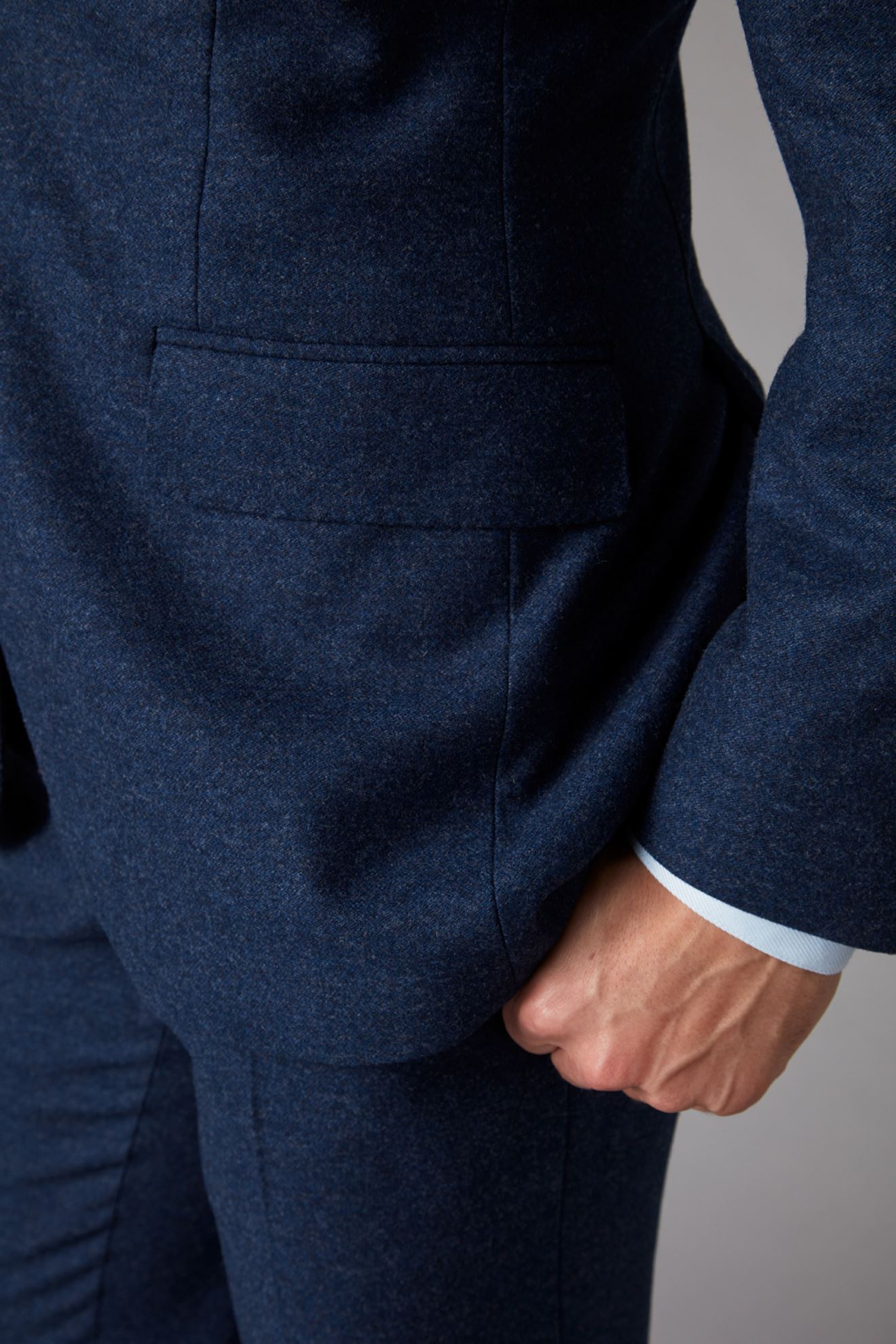 Blue Jacket Detail