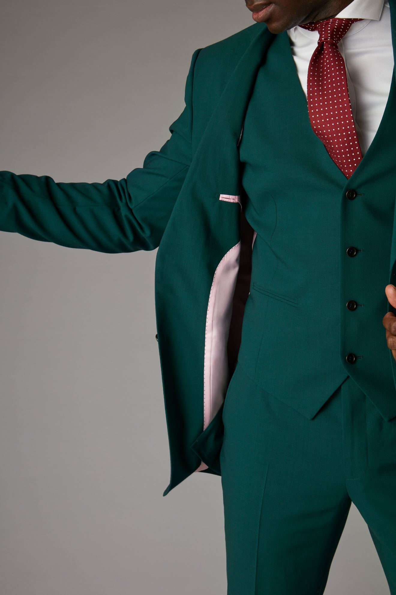 Green Jacket Detail