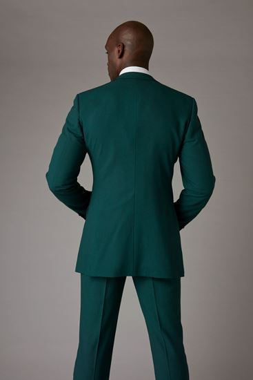 Green Jacket Back